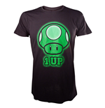 Camiseta NINTENDO SUPER MARIO BROS. 1-Up Green Mushroom - L