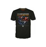 Camiseta TRANSFORMERS Fall of Cybertron Optimus Space - L