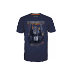 Camiseta TRANSFORMERS Fall of Cybertron Optimus Fire - L