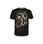 Camiseta TRANSFORMERS Fall of Cybertron Megatron Rain - S