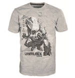 Camiseta TRANSFORMERS Fall of Cybertron Grimlock - S