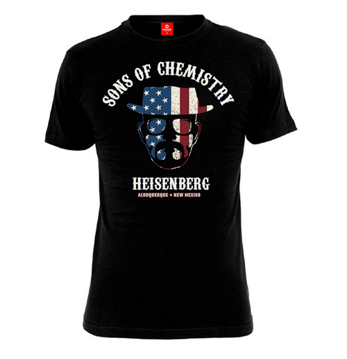 Camiseta Breaking Bad 117823