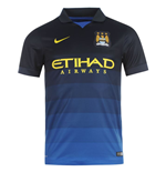 Camiseta Manchester City FC 2014-2015 Away Nike