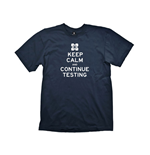 Camiseta PORTAL 2 Keep Calm & Continue Testing - M