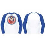 Camiseta American Dad - Protect (white & Royal B/BALL)