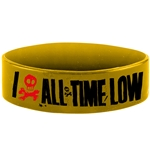 Pulsera All Time Low - Heart Bone Yellow