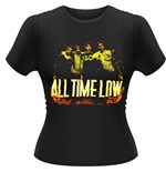 Camiseta All Time Low - Metal Finger
