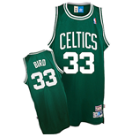 Camiseta adidas Boston Celtics #33 Larry Bird Soul Swingman Road