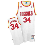 Camiseta adidas Hakeem Olajuwon Houston Rockets Soul Swingman Home