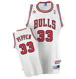 Camiseta adidas Chicago Bulls #33 Scottie Pippen Soul Swingman Home