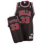 Camiseta adidas Chicago Bulls #33 Scottie Pippen Soul Swingman Alternate