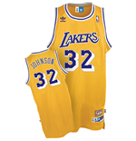 Camiseta adidas Magic Johnson Los Angeles Lakers Soul Swingman Home