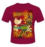 Camiseta Woodstock 119382