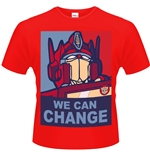 Camiseta Transformers We Can Change