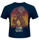 Camiseta Star Wars Sunset Poster (AZUL)