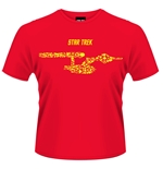 Camiseta Star Trek Ships Of The Line (Roja)