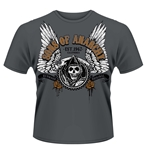 Camiseta Sons of Anarchy Destripadora gris