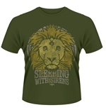 Camiseta Sleeping with Sirens Lion Crest