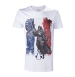 Camiseta ASSASSIN'S CREED Unity French Tricolour Flag - S