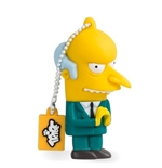 "Memoria USB Los Simpsons ""Mr. Burns"" 8GB"