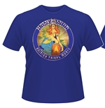 Camiseta Hawkwind British Tribal Music