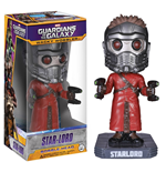 Guardians of the Galaxy Wacky Wobbler Cabezón Star-Lord 18 cm