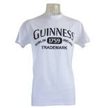 Camiseta Guinness en blanco