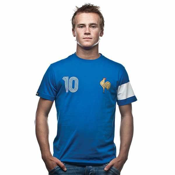 Camiseta Francia Capitaine