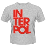 Camiseta Interpol 121106