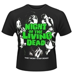 Camiseta La noche de los muertos viventes Night Of The Living Dead