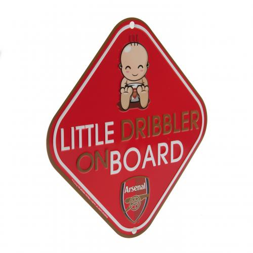 Placa de metal para Coche Arsenal