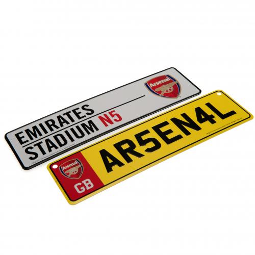 Set placas Arsenal