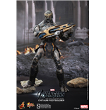 Los Vengadores Figura Movie Masterpiece 1/6 Chitauri Footsoldier 30 cm