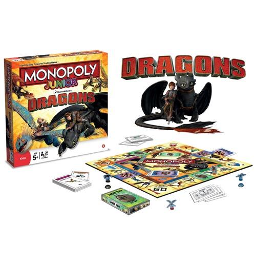 Compra Como Entrenar A Tu Dragon Juego De Mesa Monopoly Junior