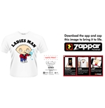 Camiseta Padre de Familia - Ladies Man (Zappar Friendly)
