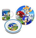 Sonic The Hedgehog Pack Desayuno Characters