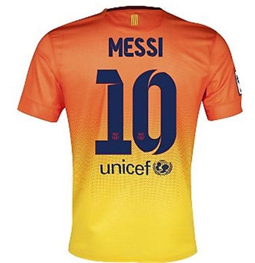 0f0bc207c2 Compra Camiseta FC Barcelona 2012-13 Nike Away (Messi 10) - de niño