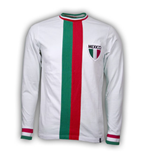 Camiseta vintage México Fútbol Away WC 1982 Retro