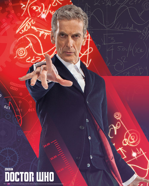 Póster Doctor Who 122518