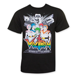 Camiseta Voltron Defenders Of The Universe Pilots