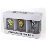 Metal Gear Solid Pack de 3 Vasos de Chupitos Set I