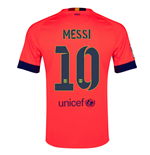Camiseta FC Barcelona 2014-15 Away (Messi 10 )
