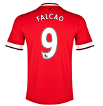 Camiseta Manchester United FC 2014-15 Home (Falcao 9)