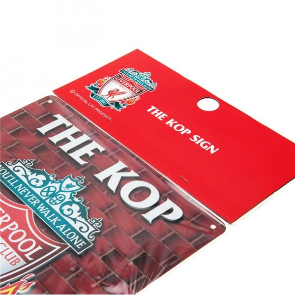 Placa Liverpool FC The Kop