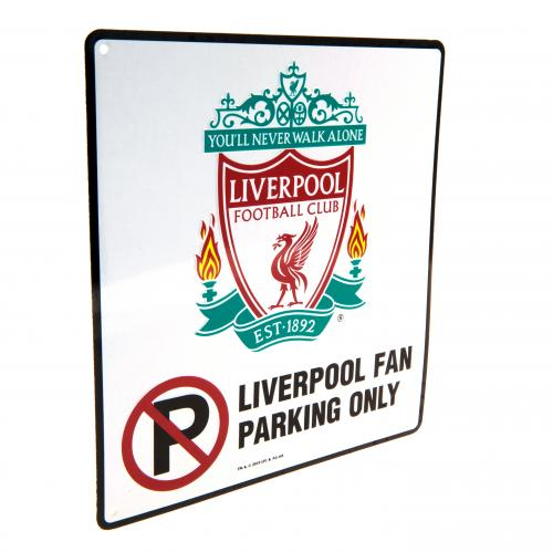 Etiqueta Liverpool FC No Parking
