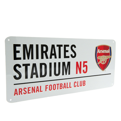 Placa de metal Arsenal