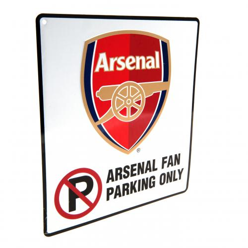 Etiqueta Arsenal No Parking