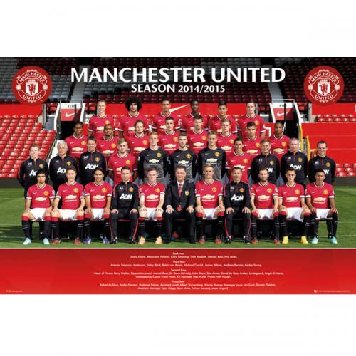 Póster Manchester United FC 124394
