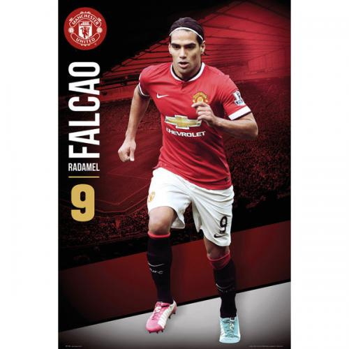 Póster Manchester United FC 124396