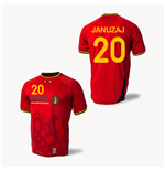 Camiseta Belgica 2014-15 World Cup Home (Januzaj 20)